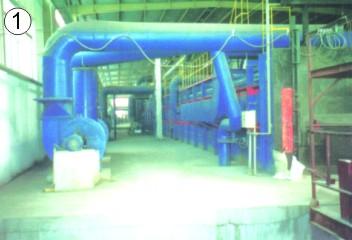 112.9M×2.3M高铝砖1550℃隧道窑