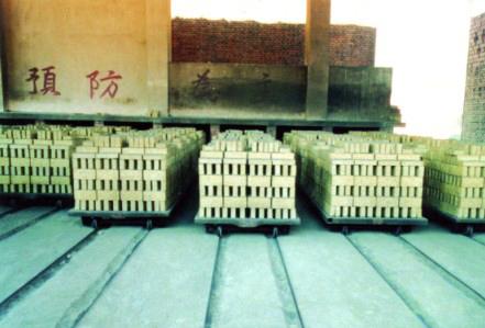 页岩砖61M干燥室