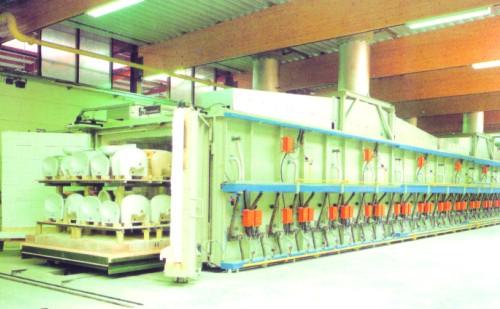 卫生瓷隧道窑