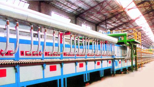 年产150万平方米玻化砖轻油辊道窑